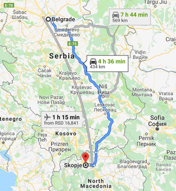 Beograd - Skoplje