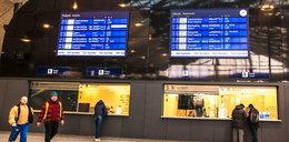 Uwaga zmiany na trasach pociągów