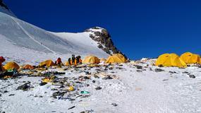 Mount Everest, najwyższe na świecie wysypisko śmieci