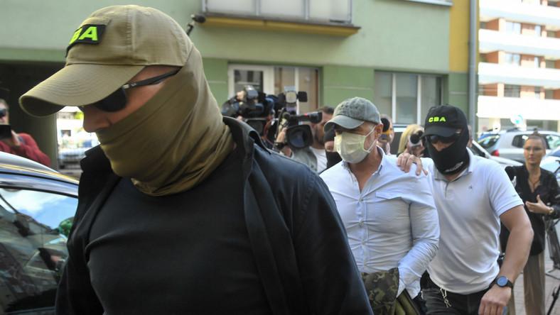 Zatrzymanie Sławomira Nowaka w lipcu 2020 roku