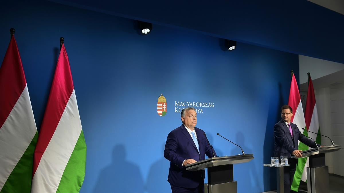 """Eb 2020 - Orbán Viktor: """"Ezzel a térdelősdivel legkevésbé sem szimpatizálok"""""""