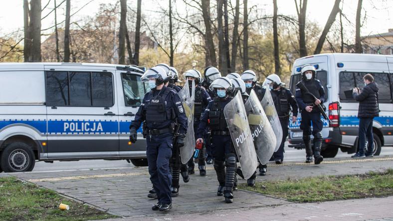 Policja interweniowała w Tychach