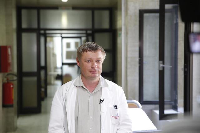 Goran Stevanović, direktor Infektivne
