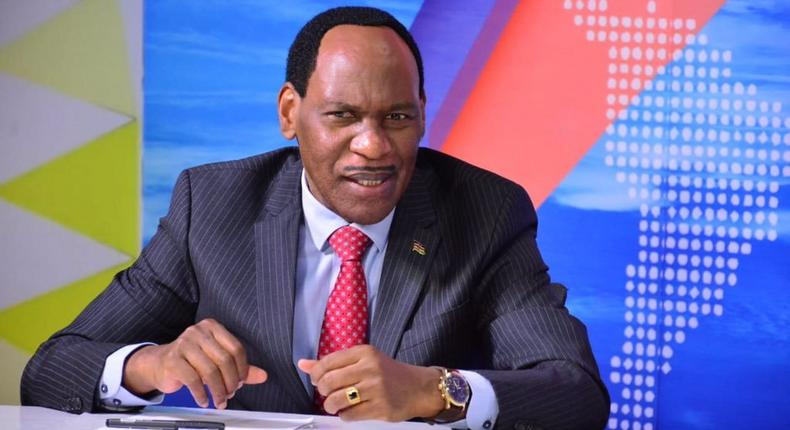 Media houses are destroying our children with dirty content – Ezekiel Mutua (Photo: Courtesy/Twitter)