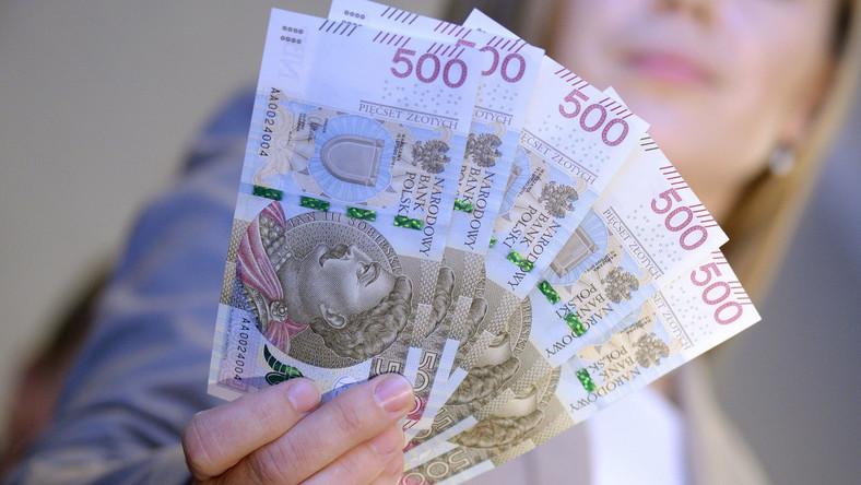 Nowy banknot NBP