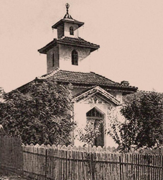 Kalmički hram nekada