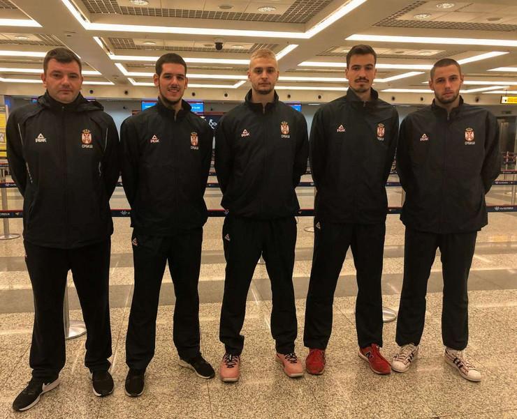 Mlada basket reprezentacija Srbije