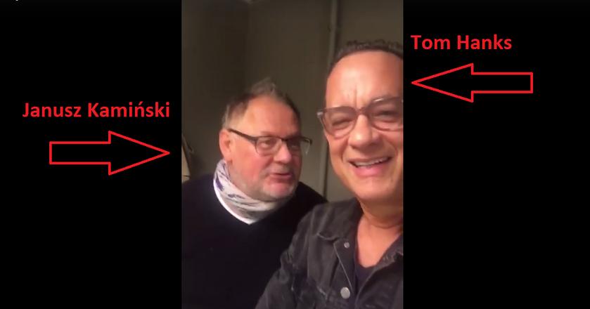 Tom Hanks składał życzenia, a Janusz Kamiński wystąpił w roli tłumacza