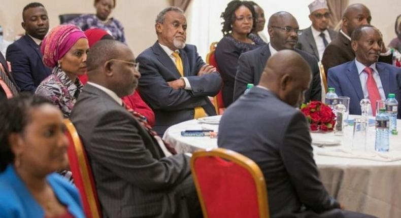 Jubilee Senators during a past meeting