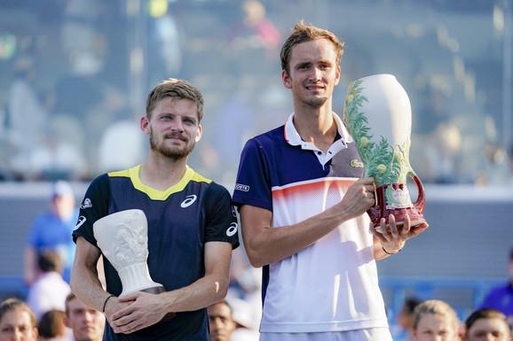 David Gofan i Danil Medvedev posle finala mastersa u Sinsinatiju