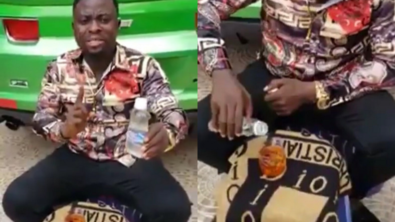 Brother Sammy advertises his divine water; says it can cure HIV