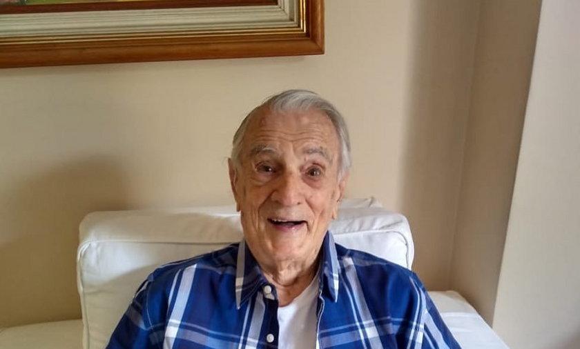 Orlando Drummond nie żyje. Miał 101 lat. Odszedł w środę 28 lipca w jednym ze szpitali w Rio de Janeiro