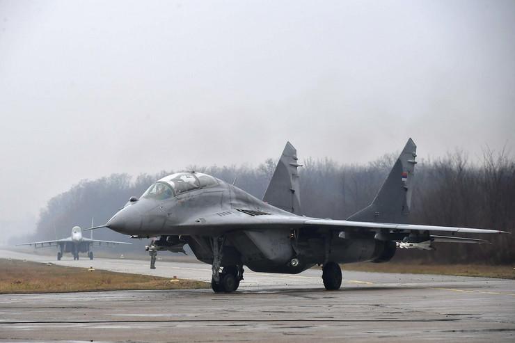 MIG 29, Vojska Srbije, Batajnica