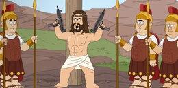"""""""Paradise PD"""". Jezus jako morderca i bohater scen pornograficznych. Pojawiła się petycja do Netflixa"""