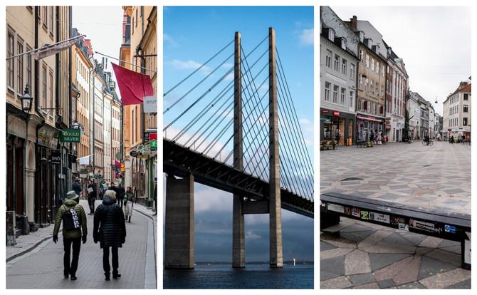 Švedska, most koji ih deli i Danska