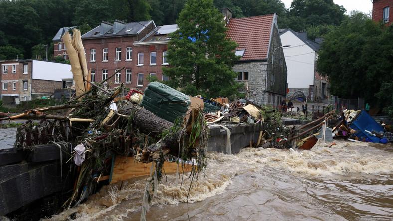Powodzie w Belgii
