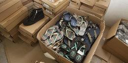 Skarbówka sprzedaje buty