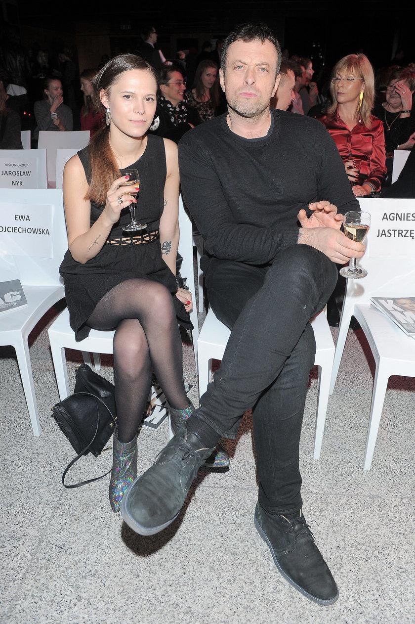 Tymon Tymański z żoną