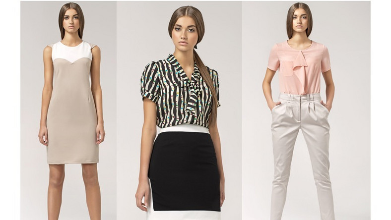 W nowej kolekcji pojawiło się wiele modeli wiosennych, zwiewnych i niezwykle kobiecych bluzek. Znajdziemy tu szereg wzorów, które przypadną do gustu niejednej fance pasteli, czy też colour block