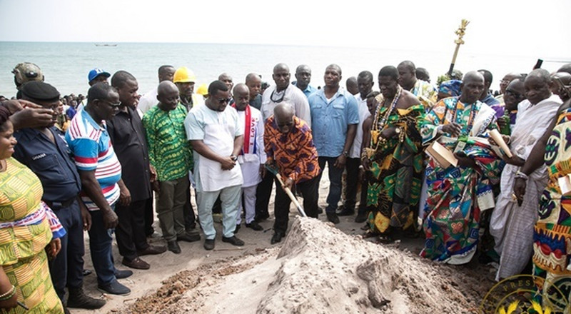 Teshie Lekma road to be completed in June 2020