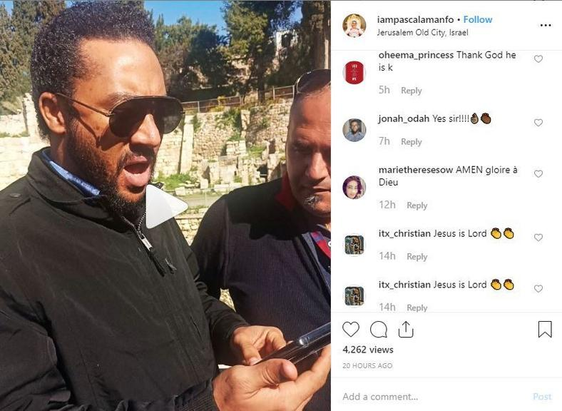 Fans react to Pascal's post