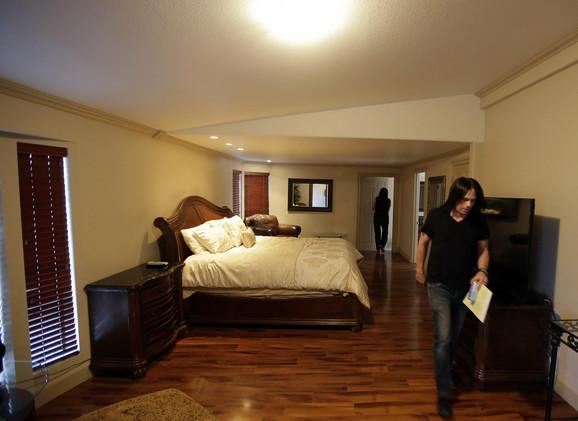 Soba u kojoj je pronađen Lamar Odom