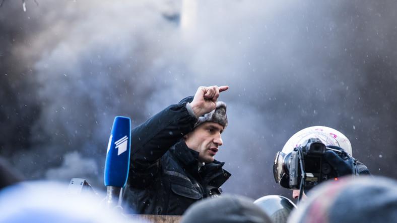 Witalij Kliczko apeluje do wojska i milicji o bunt