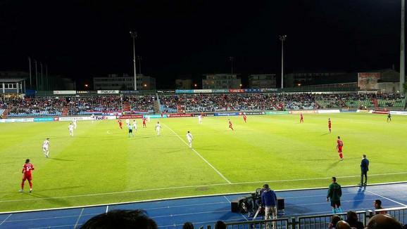 Detalj sa utakmice Srbija Luksemburg