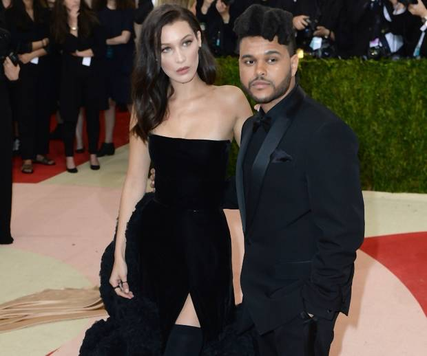 Bella Hadid és The Weeknd