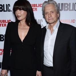 Catherine Zeta-Jones i Michael Douglas razem na premierze