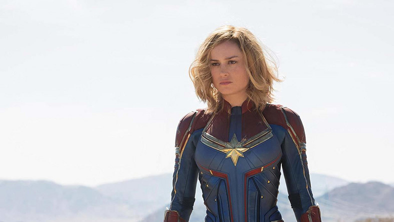 "Kadr z filmu ""Captain Marvel"""