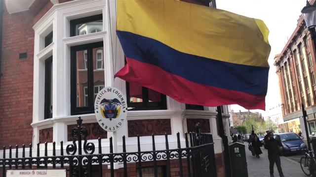 Ambasada Ekvadora posle hapsenja Asanza