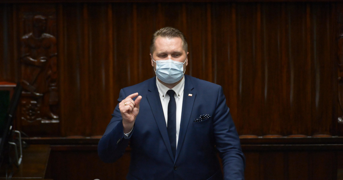 Minister Czarnek: Platforma ma obsesję na punkcie edukacji ...