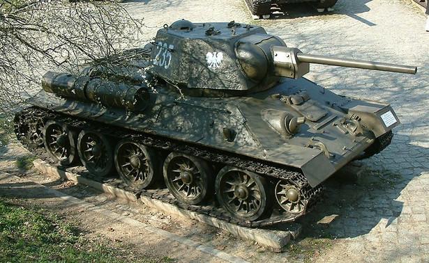 Używany podczas bitwy pod Lenino T-34/76 był czołgiem podstawowym w 1 Warszawskim Pułku Czołgów. fot. Radomil / Wikimedia Commons / CC-BY-SA 3.0
