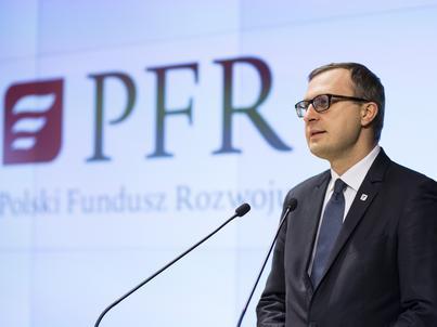 Paweł Borys, prezes Polskiego Funduszu Rozwoju, zapowiada otwarcie funduszu wspierającego innowacyjność i współpracę małych i dużych firm