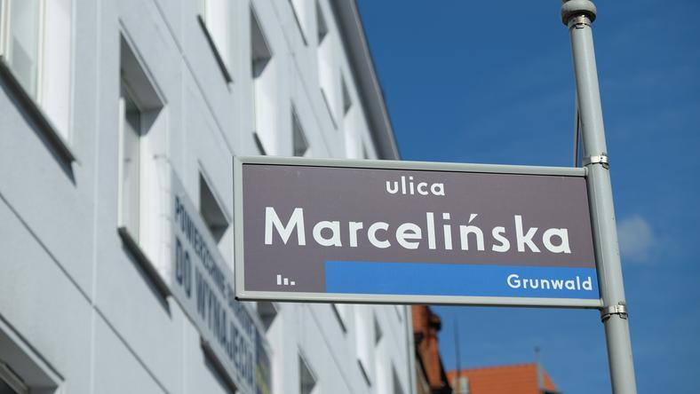 Ulica Marcelińska w Poznaniu
