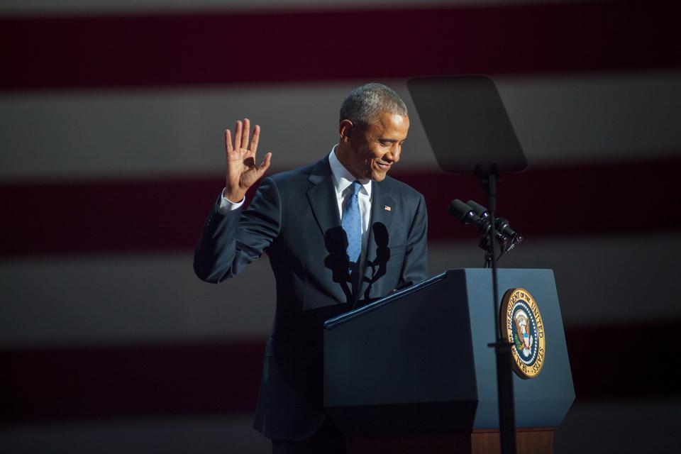 Obamarozpoczynał swoją karierę polityczną właśnie w Chicago i w tym mieście wygłosił pierwsze przemówienie po zwycięstwie wyborczym w 2008 r.