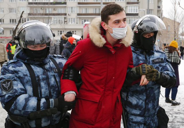 Protest u Moskvi