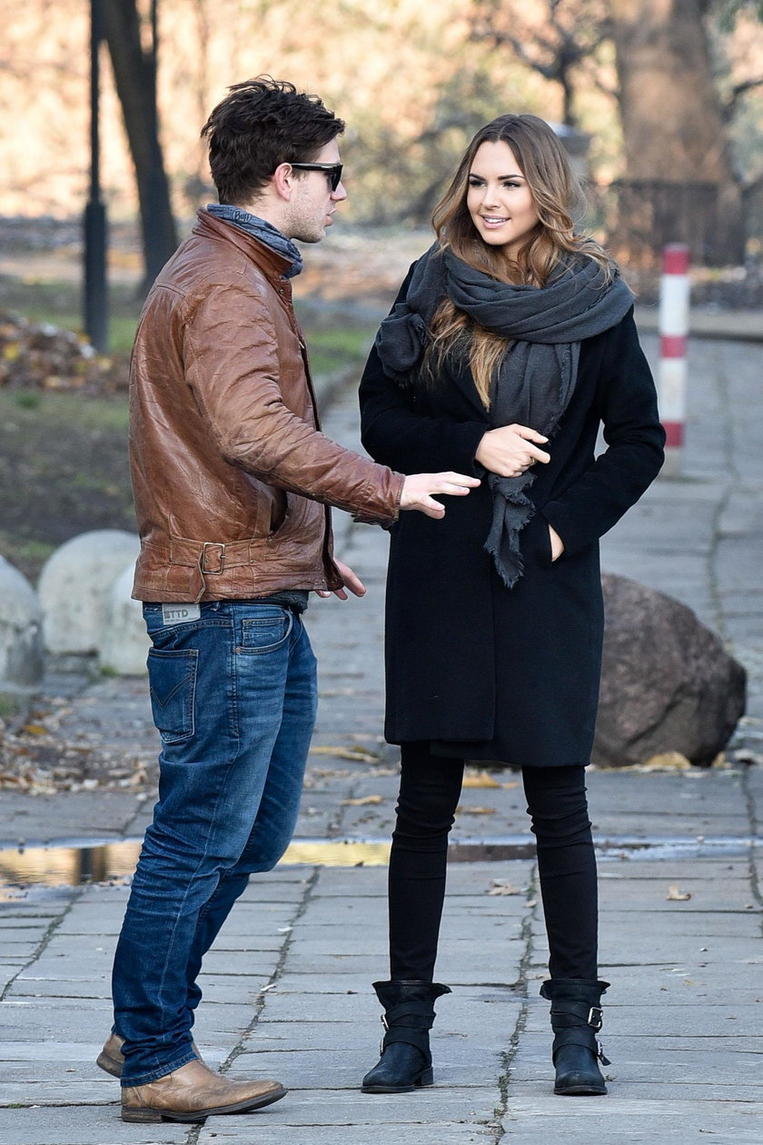 Antoni Królikowski i Magdalena Bieńkowska