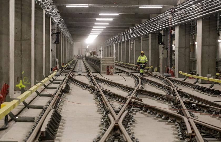 Budowa metra na finiszu