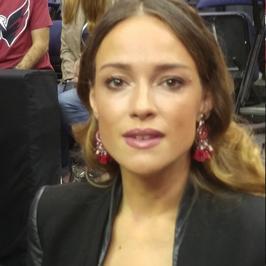 Alicja Bachleda-Curuś wspierała Marcina Gortata podczas meczu. Jak się prezentowała?