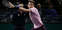 ATP w Monte Carlo. Deszcz przerwałmecz Huberta Hurkacza. Polak wygrał pierwszego seta