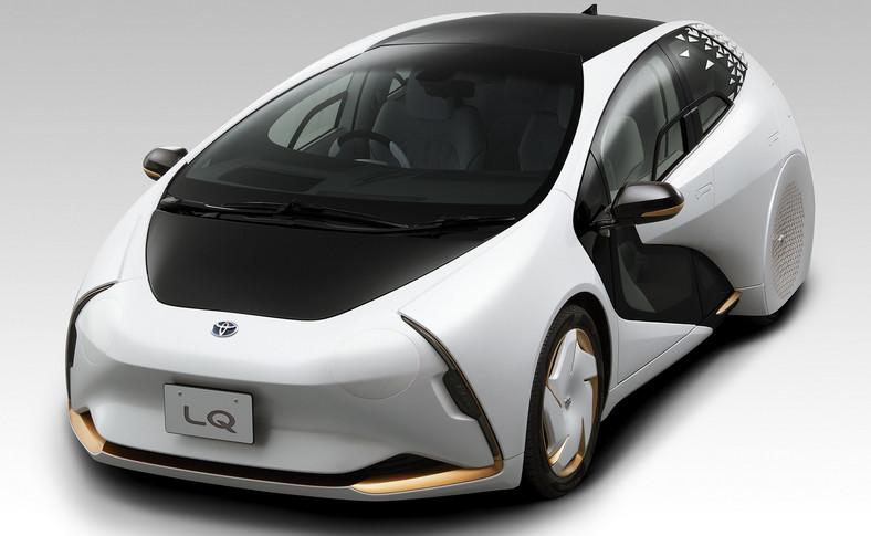 Toyota LQ Concept - elektryczny i autonomiczny samochód miał brylować w czasie Igrzysk Olimpijskich w Tokio