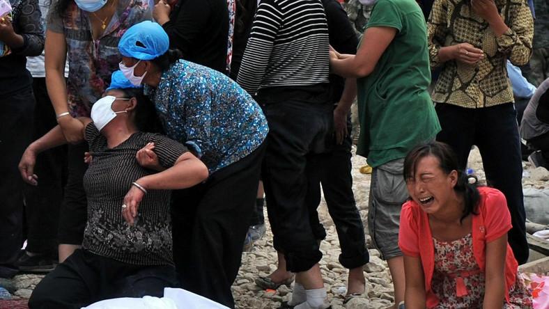 Żałoba w Chinach. Zginęło ponad 1200 osób