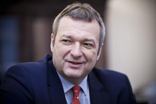 Marek Tombarkiewicz, wiceminister zdrowia fot. Wojtek Górski