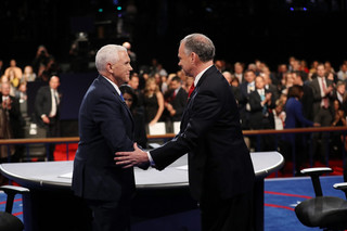 Debata wiceprezydencka u USA: Kaine miał lepsze argumenty, a Pence styl