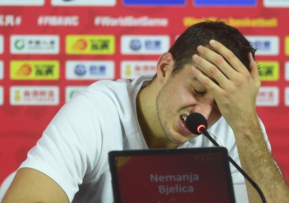 Nemanja Bjelica bio je neutešan na konferenciji za štampu