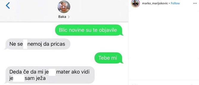Baba izašla si u Blicu