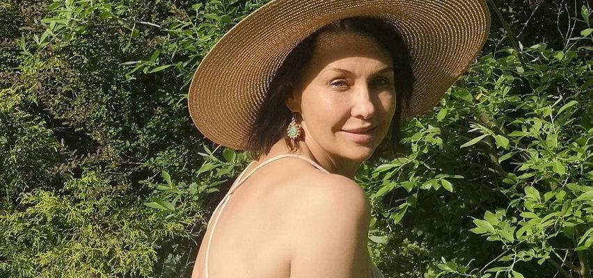 Anna Popek pokazała się w bikini: Nie wiem, czy w moim wieku to wypada, ale…