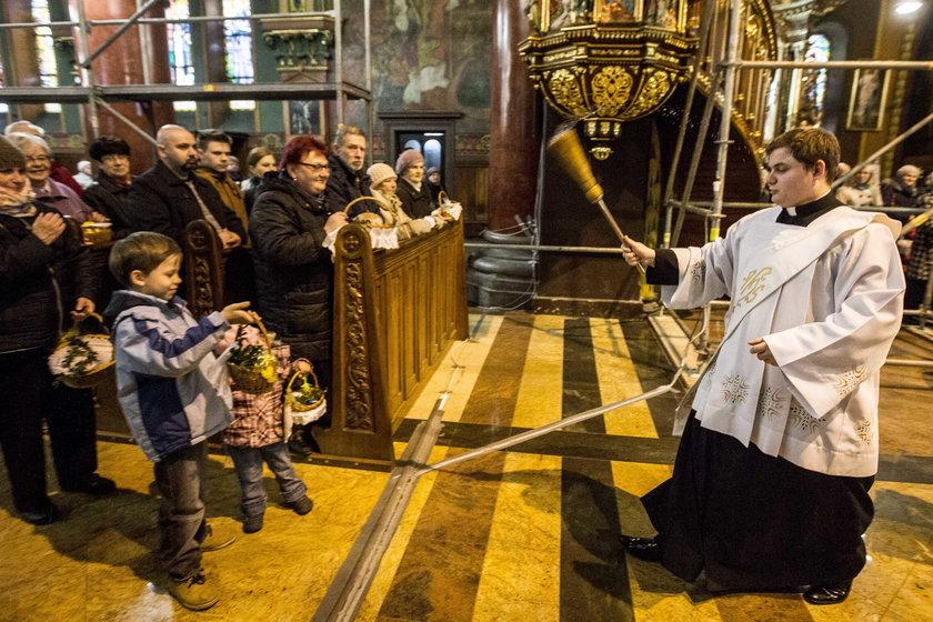 Wielka Sobota w katedrze w Sosnowcu